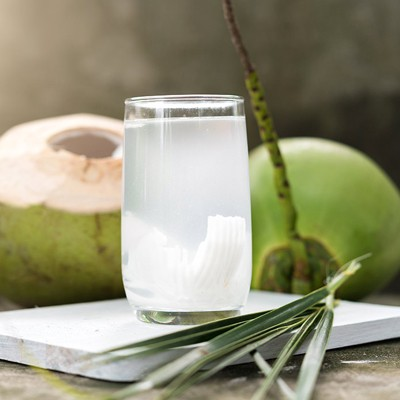 Organic Coconut Water Canned
